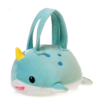 Lil' Huggy Plush Narwhal Purse by Fiesta