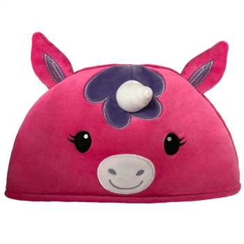 Lil' Huggy Plush Pink Unicorn Hat by Fiesta