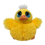Lucy the Pom Pals Duck Stuffed Animal by Fiesta