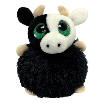 Ethel the Pom Pals Cow Stuffed Animal by Fiesta