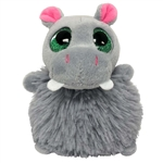 Ricky the Pom Pals Hippo Stuffed Animal by Fiesta