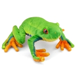 Plush Tree Frog 9 Inch Stuffed Frog By Fiesta