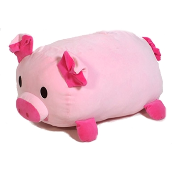 Jumbo Huggy Pig Stuffed Animal by Fiesta