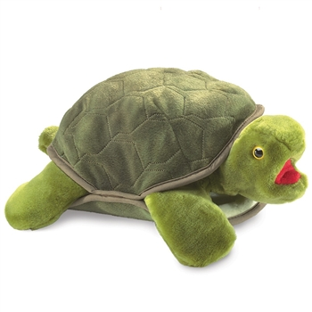 Full Body Turtle Puppet by Folkmanis Puppets