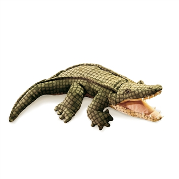 Full Body Alligator Puppet by Folkmanis Puppets