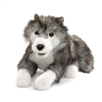 Full Body Timber Wolf Puppet by Folkmanis Puppets
