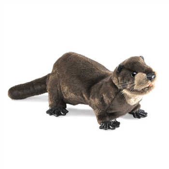 Full Body River Otter Puppet by Folkmanis Puppets