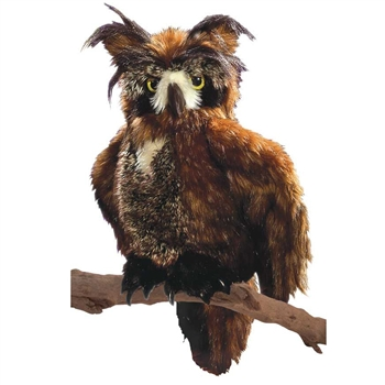 Full Body Great Horned Owl Puppet by Folkmanis Puppets