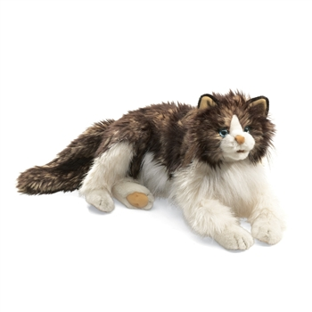 Full Body Ragdoll Cat Puppet by Folkmanis Puppets