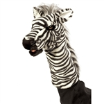 Zebra Stage Puppet by Folkmanis Puppets