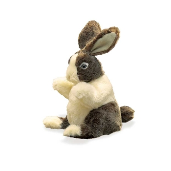 Full Body Baby Dutch Rabbit Puppet by Folkmanis Puppets
