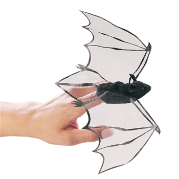Bat Finger Puppet by Folkmanis Puppets