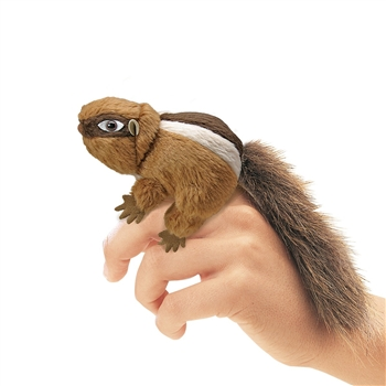 Chipmunk Finger Puppet by Folkmanis Puppets