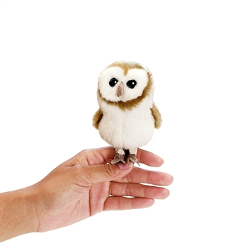 Barn Owl Finger Puppet by Folkmanis Puppets
