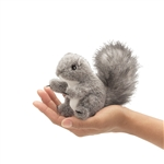 Gray Squirrel Finger Puppet by Folkmanis Puppets