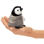 Baby Emperor Penguin Finger Puppet by Folkmanis Puppets