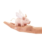 Pig with Wings Finger Puppet by Folkmanis Puppets