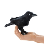 Raven Finger Puppet by Folkmanis Puppets