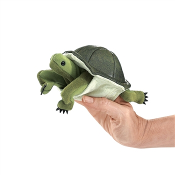 Turtle Finger Puppet by Folkmanis Puppets