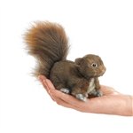 Red Squirrel Finger Puppet by Folkmanis Puppets
