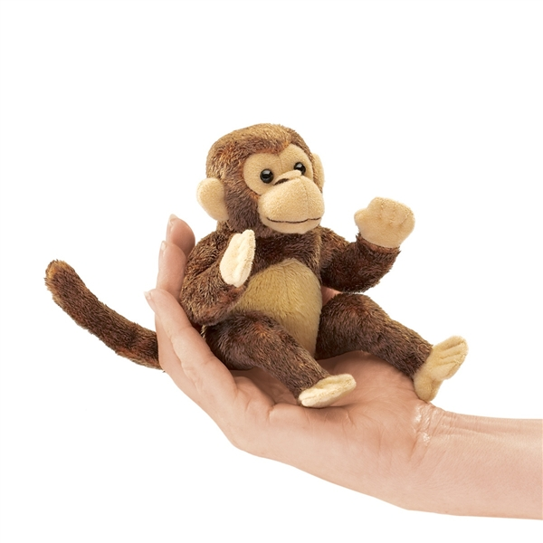 monkey finger puppet by folkmanis puppets at stuffed safari