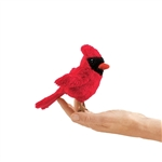 Cardinal Finger Puppet by Folkmanis Puppets
