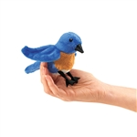 Bluebird Finger Puppet by Folkmanis Puppets