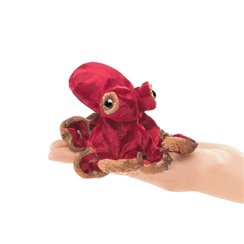 Octopus Finger Puppet by Folkmanis Puppets