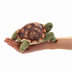 Mini Tortoise Finger Puppet by Folkmanis Puppets