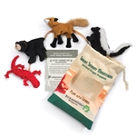 Great Smoky Mountain Finger Puppet Set by Folkmanis Puppets