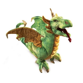 Full Body Wyvern Dragon Puppet by Folkmanis Puppets