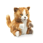 Full Body Orange Kitten Puppet by Folkmanis Puppets