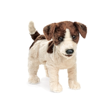 Full Body Jack Russell Terrier Puppet by Folkmanis Puppets