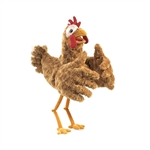 Full Body Silly Chicken Puppet by Folkmanis Puppets
