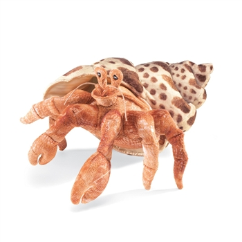 Full Body Hermit Crab Puppet by Folkmanis Puppets