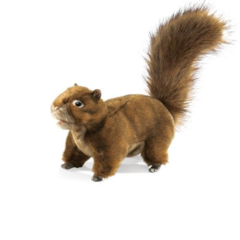 Full Body Red Squirrel Puppet by Folkmanis Puppets