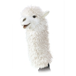 Alpaca Stage Puppet by Folkmanis Puppets