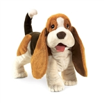Full Body Basset Hound Puppet by Folkmanis Puppets