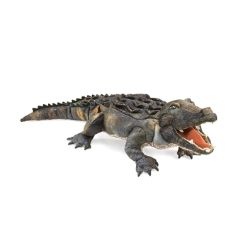 Full Body Realistic Alligator Puppet by Folkmanis Puppets