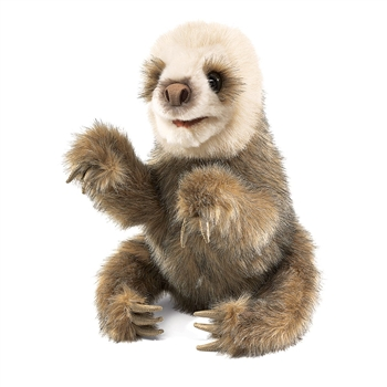 Full Body Baby Sloth Puppet by Folkmanis Puppets