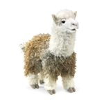 Full Body Alpaca Puppet by Folkmanis Puppets