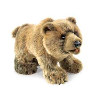 Full Body Grizzly Bear Puppet by Folkmanis Puppets
