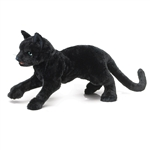 Full Body Black Cat Puppet by Folkmanis Puppets