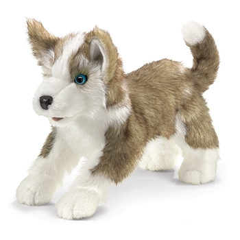 Full Body Wolf Cub Puppet by Folkmanis Puppets