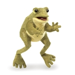 Full Body Funny Frog Puppet by Folkmanis Puppets