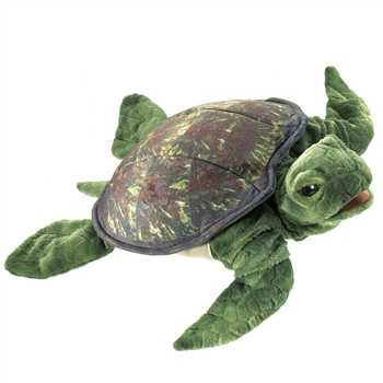 Full Body Sea Turtle Puppet by Folkmanis Puppets