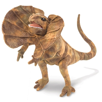 Full Body Frilled Lizard Puppet by Folkmanis Puppets