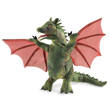 Full Body Winged Dragon Puppet by Folkmanis Puppets