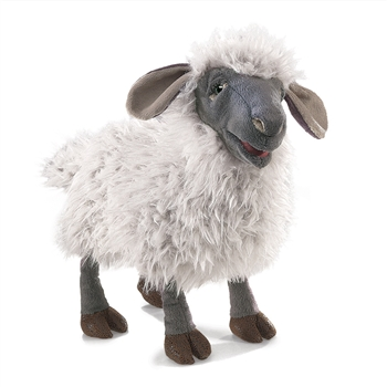Full Body Blackface Sheep Puppet by Folkmanis Puppets