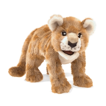 Full Body Lion Cub Puppet by Folkmanis Puppets